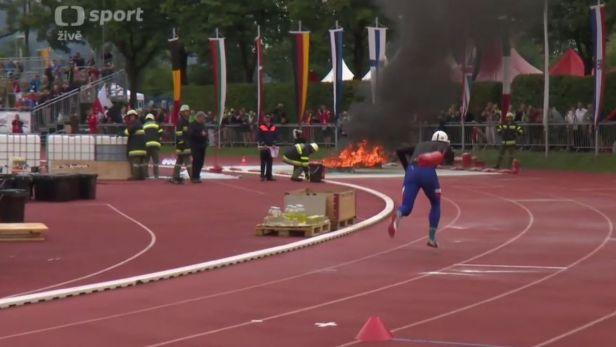 Na světové olympiádě hasičů dominovaly české štafety