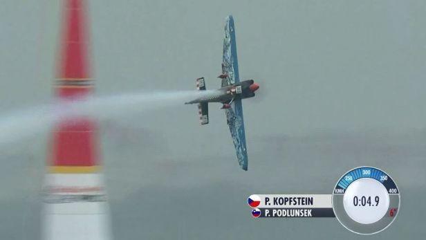 Kvalifikační let Petra Kopfsteina v Kazani