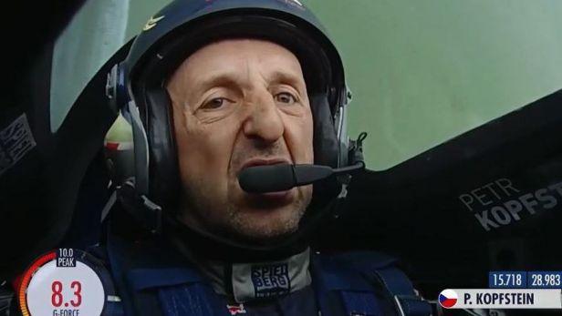Čtvrtfinálový let Petra Kopfsteina v Kazani