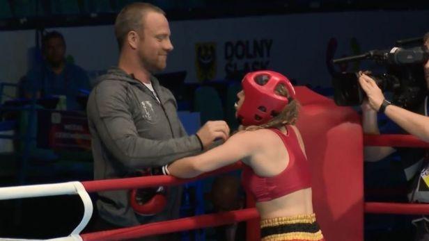Kickboxerka Mašková si z ringu na Světových hrách odnesla zlato