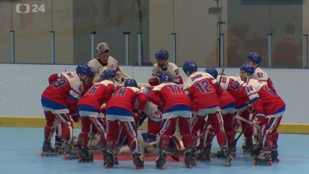 Čeští inline hokejisté slaví na Světových hrách zlato