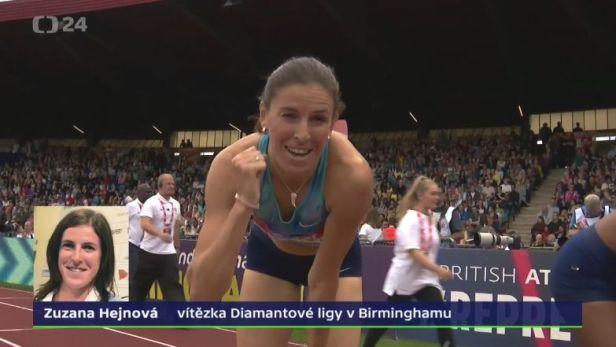 Vítězná Hejnová: Jen mi to potvrdilo, že na finále MS jsem neměla svůj den