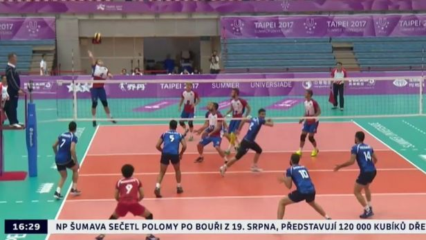 Čeští volejbalisté zdolali Portugalsko, na univerziádě skončili sedmí