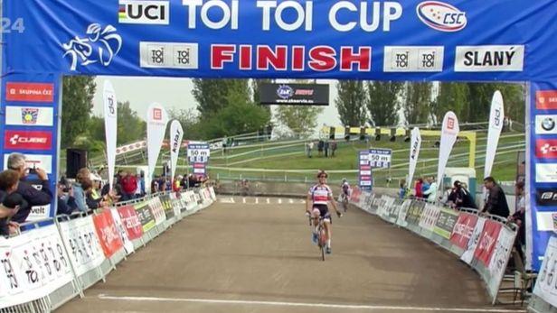 Ťoupalík zahájil cyklokrosový Toi Toi Cup druhým místem