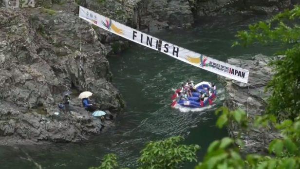 Japonsko poprvé hostí MS v raftingu, Češky už vybojovaly bronz