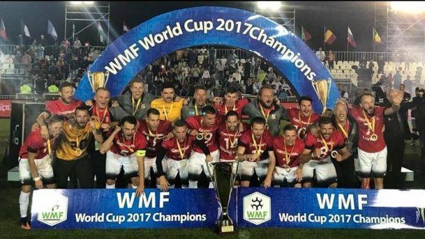 Medailový ceremoniál mistrovství světa v malém fotbale