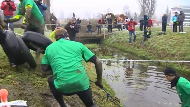 Na pardubickém dostihovém závodišti se běžel Gladiator Race