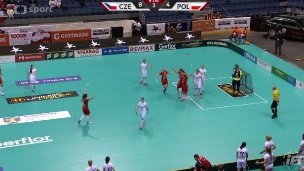 Florbalistky zdolaly Polsko a jsou v semifinále