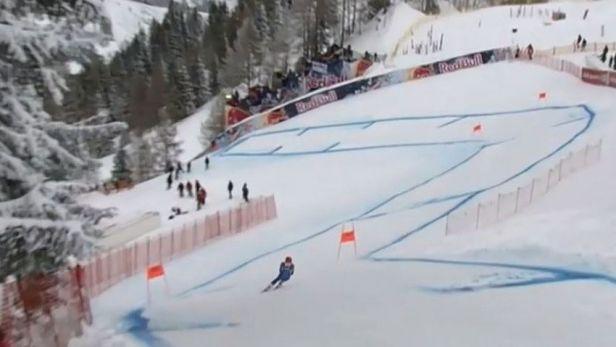 Trénink v Kitzbühelu vyhrál Ital Marsaglia