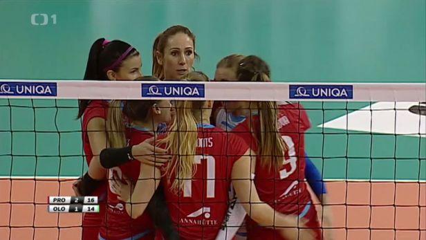 Prostějovské volejbalistky ovládly finále Českého poháru