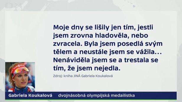 Gabriela Koukalová dlouho trpěla poruchou příjmu potravy