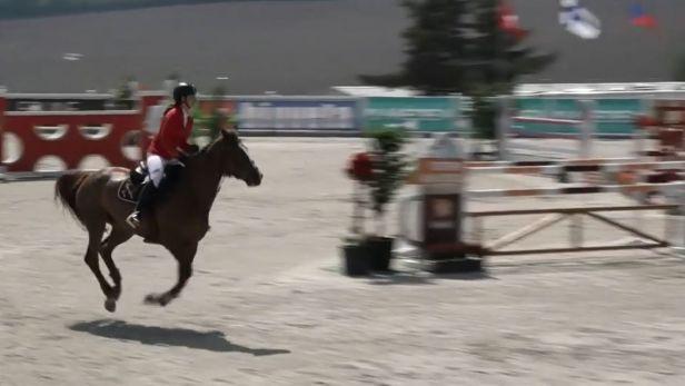 Mezinárodní jezdecké závody ve Zduchovicích vrcholily souboji o velkou cenu jednotlivců