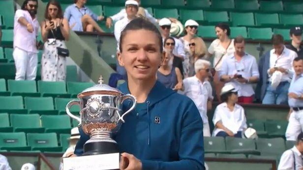 Halepová dobyla v Paříži svůj první grandslamový titul