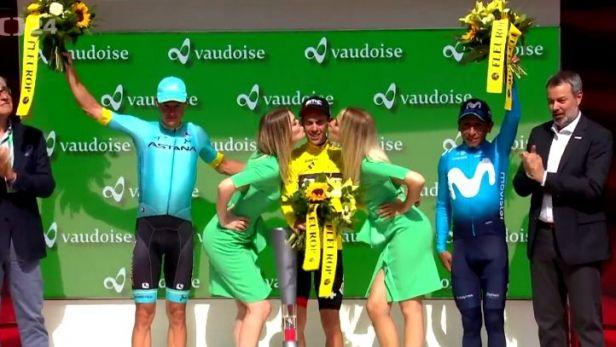 Porte vybojoval vítězství v závodě Kolem Švýcarska