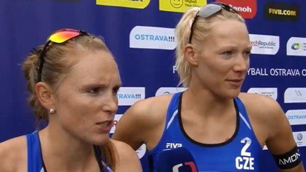 Kolocová s Kvapilovou se s turnajem v Ostravě loučí