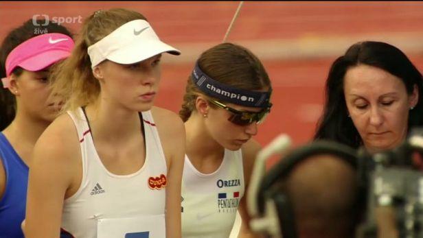 Pětibojařka Křenková skončila v závodě žen na MSJ osmá