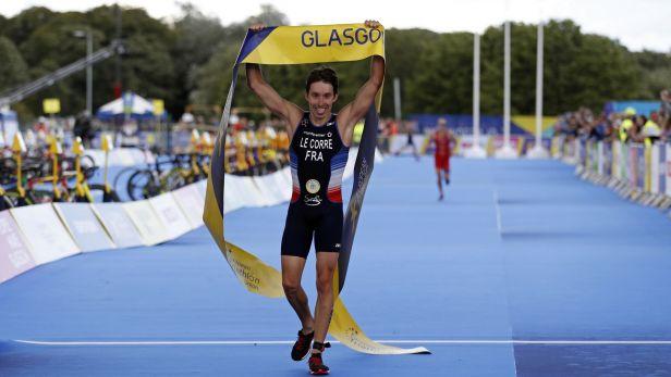 Evropský titul v triatlonu získal Le Corre, Brownlee je bez medaile