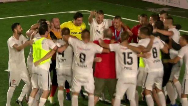 Reprezentace v malém fotbale ovládla ME po výhře nad Rumunskem