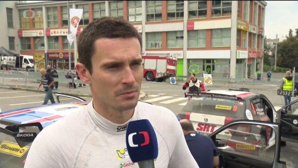 Kopecký ztratil na Barum Rallye vedení