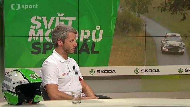 Svět motorů speciál: Hodnocení Barum rallye s Miroslavem Jakešem