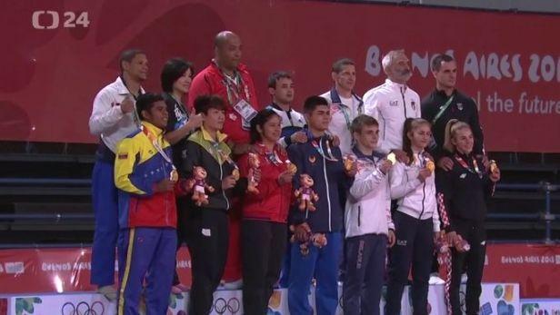 Češi mají na olympiádě mládeže další dvě medaile