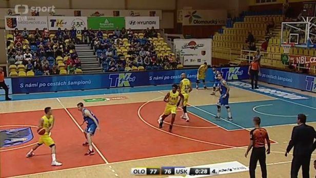 Basketbalisté Olomoucka těsně porazili USK