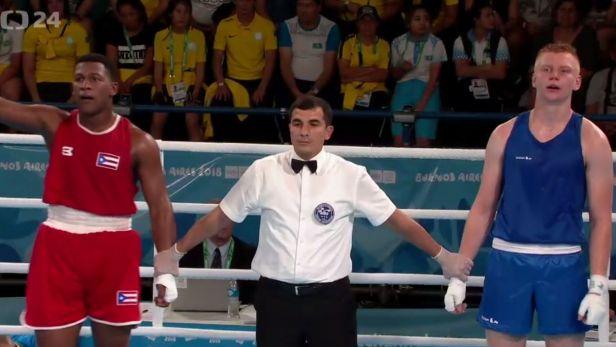 Boxer Mikušťák na medaili nedosáhl. Na olympiádě mládeže skončil čtvrtý