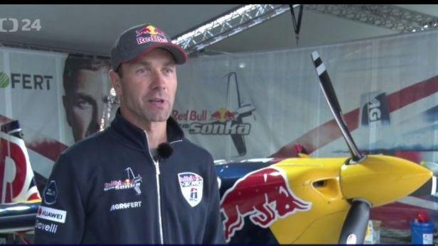 Šonkovi vyšel trénink na finále Red Bull Air Race