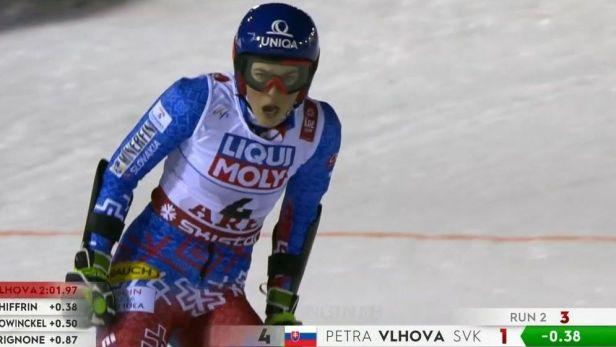 Vlhová se postarala o první zlato pro Slovensko ze sjezdového lyžování