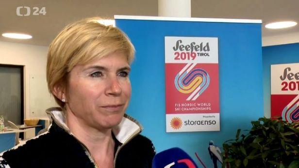 Neumannová k dopingové aféře na MS: Nešokovalo mě to, ale také nepotěšilo