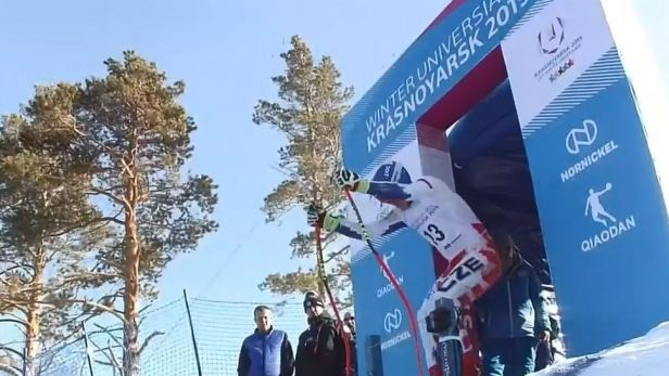 Klinský vybojoval v superobřím slalomu první českou medaili z univerziády