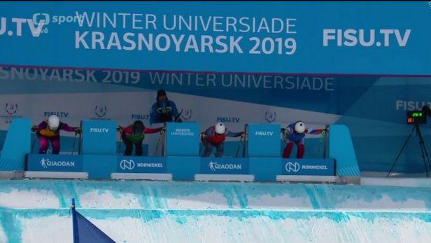 Šestá medaile pro Česko. Kašparová byla na univerziádě třetí ve skikrosu