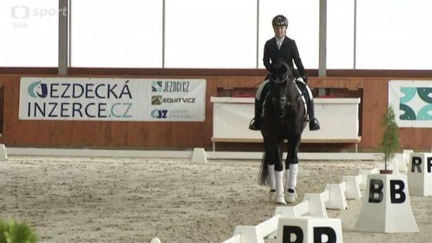 Vištalová se představila na jezdeckém festivalu v Královicích, čeká ji kvalifikace do Tokia