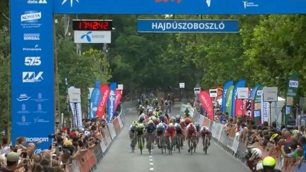 Kaňkovský navázal na Bártu, ve třetí etapě Kolem Maďarska předvedl nejlepší spurt