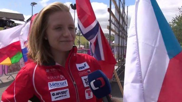 Orientační běžkyni Janošíkové se na startu MS juniorů dařilo, ve sprintu skončila šestá