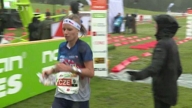 České štafety se s MS v orientačním běhu rozloučily dobrými výkony. Muži byli čtvrtí, ženy páté