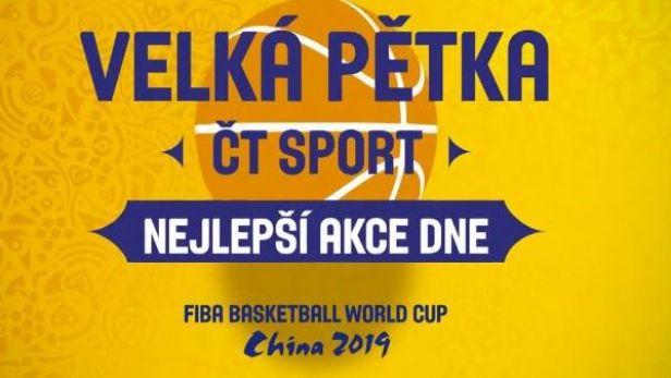 Velká pětka ČT sport: Nejlepší akce dne (9. 9.)