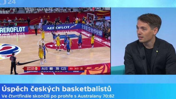 Tomáš Budka o úspěchu basketbalové reprezentace na MS