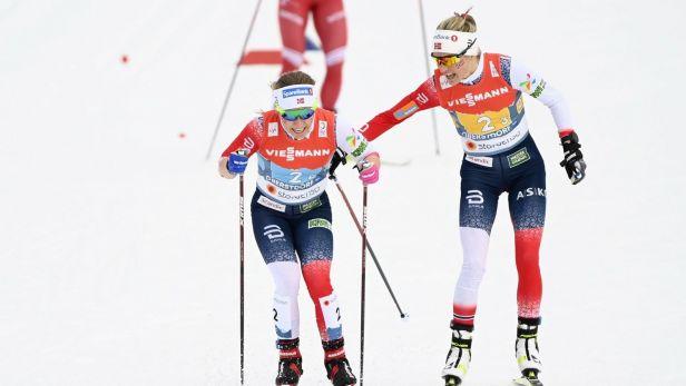 Štafeta běžkyň na lyžích byla na MS osmá, vyhrály Norky