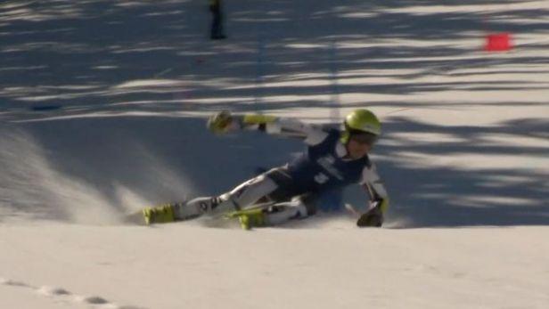 Mistry republiky v obřím slalomu jsou Müller a Capová