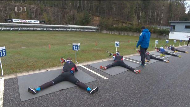 Biatlonisté nezahálejí. Po nedávném konci sezony se zase připravují, ale bez Moravce