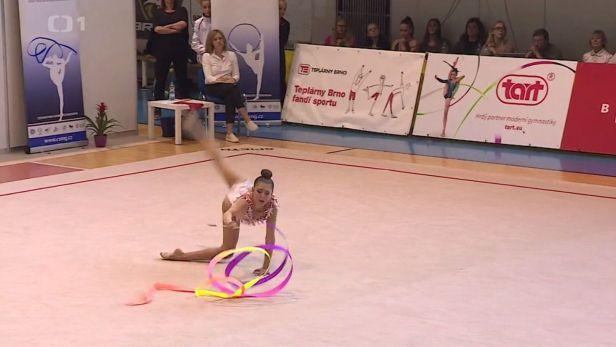 Moderním gymnastkám vládne Garoffolo, kterou čeká i MS