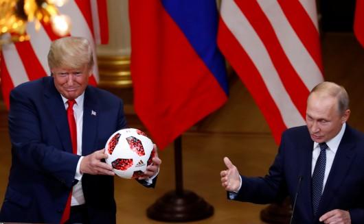 Míč je na Trumpově straně...,  Autor: Leonhard Foeger,  Zdroj: Reuters