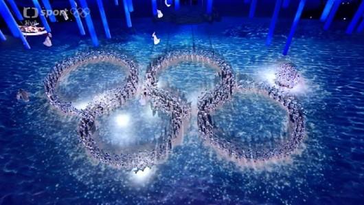 """""""Nerozevřený"""" pátý olympijský kruh"""