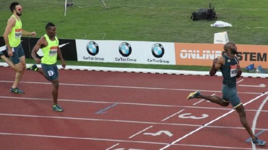 Závod na 400 metrů na Zlaté tretře