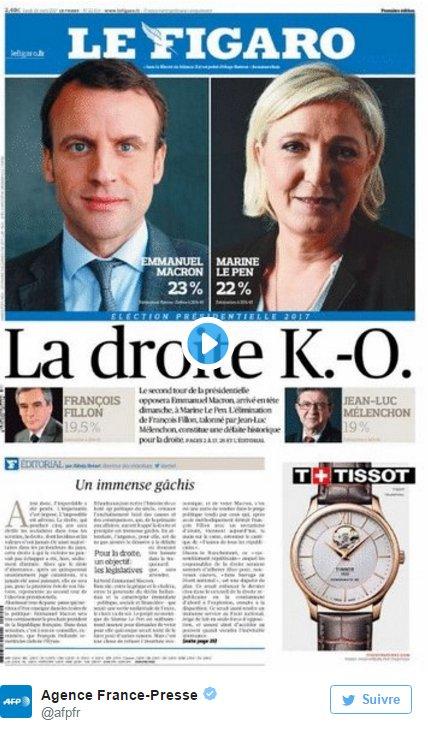 Titulka Le Figaro