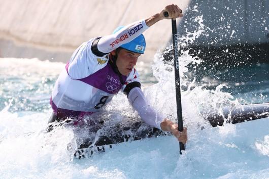 Lukáš Rohan v olympijském závodě