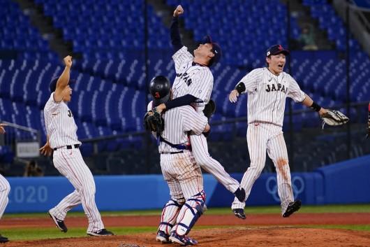 Radost japonských baseballistů
