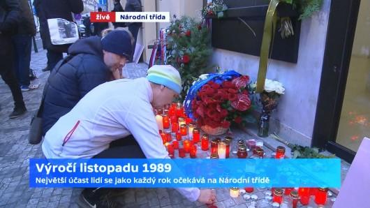 Národní třída v 7:30 Zdroj: ČT24
