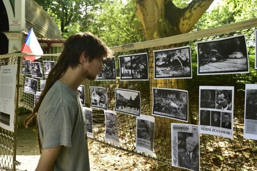 Výstava v Městských sadech v Ústí nad Labem ,  Autor: Ondřej Hájek,  Zdroj: ČTK